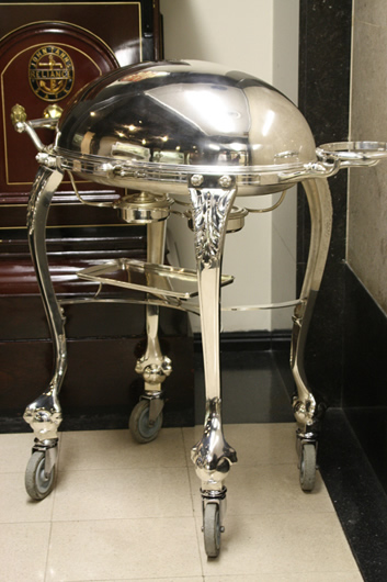Silver Carving Trolleys Carving And Dessert Trolleys